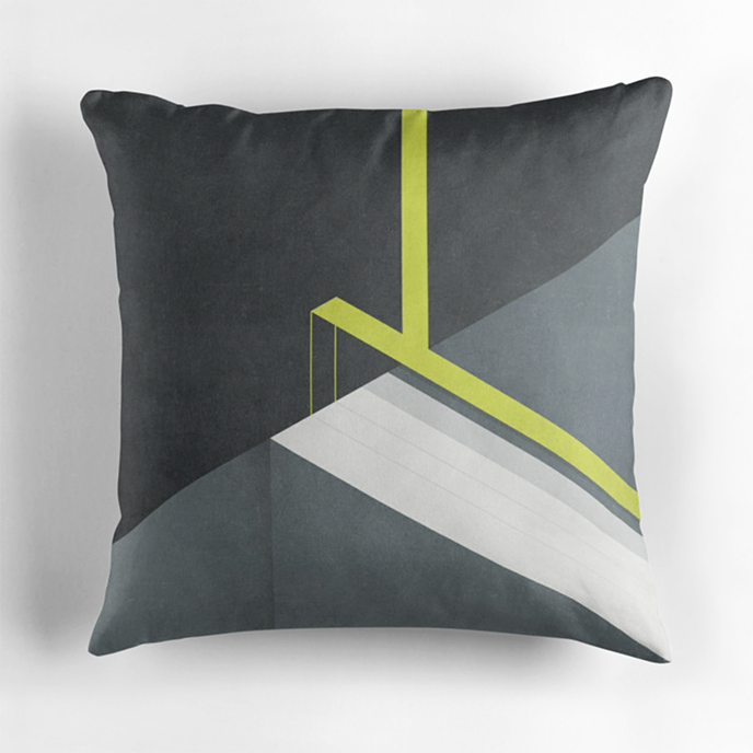 Tracie Andrews - Geometric cushions at Redbubble | Pitter Pattern