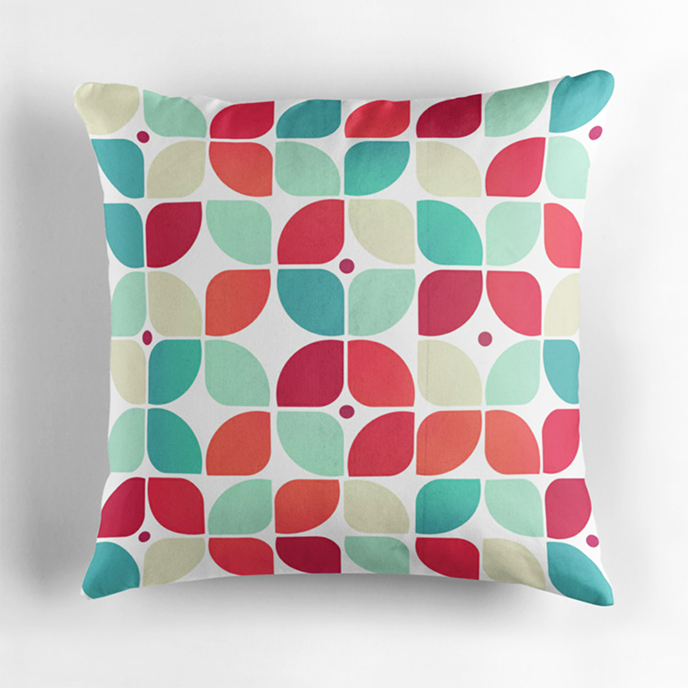 VessDSign - Geometric cushions at Redbubble | Pitter Pattern