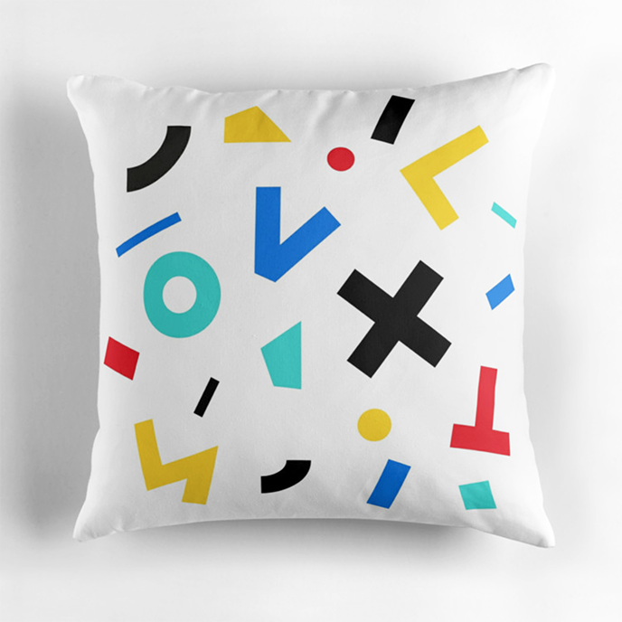 contexture - Geometric cushions at Redbubble | Pitter Pattern
