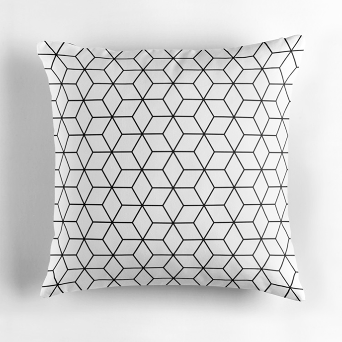 elfina - Geometric cushions at Redbubble | Pitter Pattern