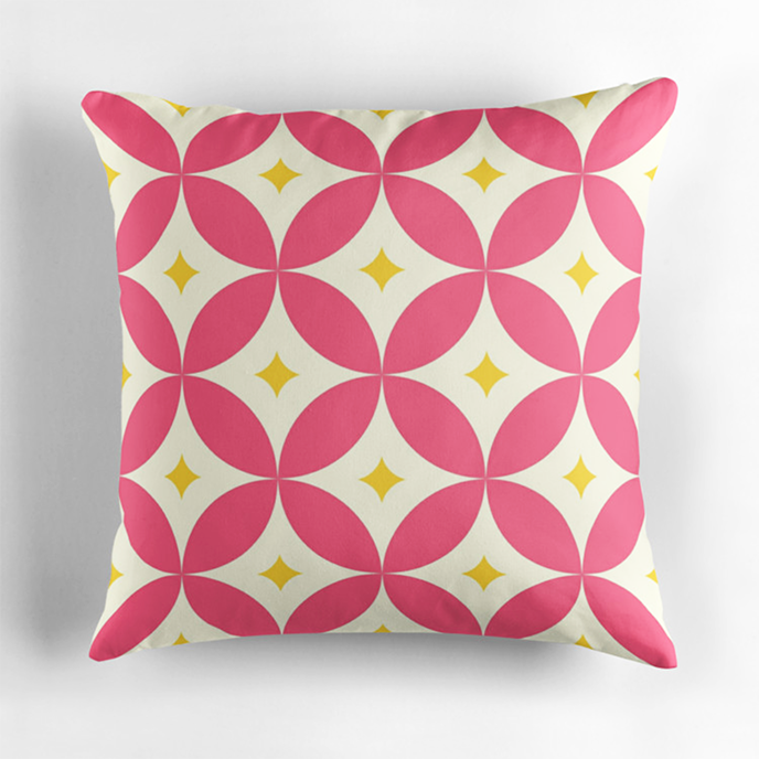 jaysanstudio - Geometric cushions at Redbubble | Pitter Pattern