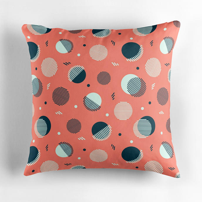megdig - Geometric cushions at Redbubble | Pitter Pattern
