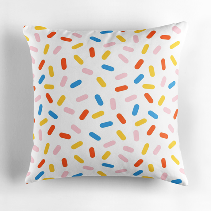 wackadesigns - Geometric cushions at Redbubble | Pitter Pattern