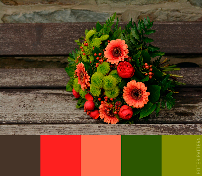 24 striking colour palettes for the daring [6] | Pitter Pattern