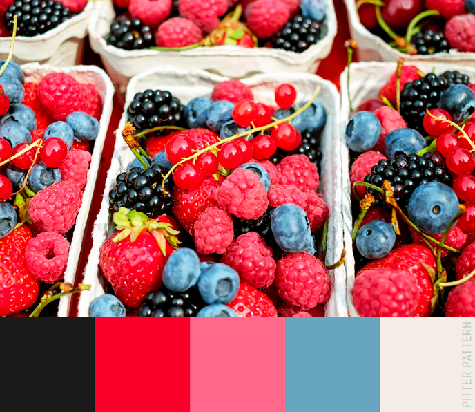 24 striking colour palettes for the daring [7] | Pitter Pattern
