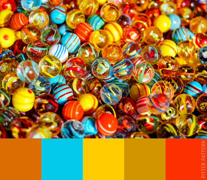 24 striking colour palettes for the daring [9] | Pitter Pattern