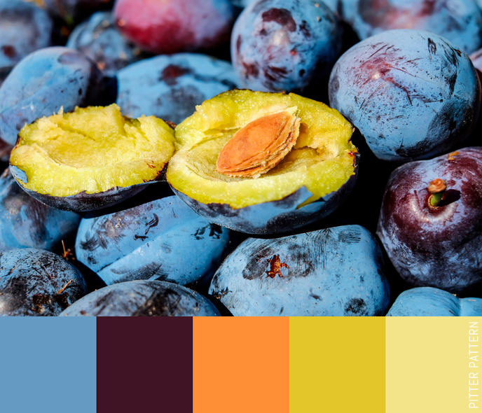 24 striking colour palettes for the daring [10] | Pitter Pattern