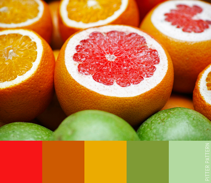 24 striking colour palettes for the daring [15] | Pitter Pattern