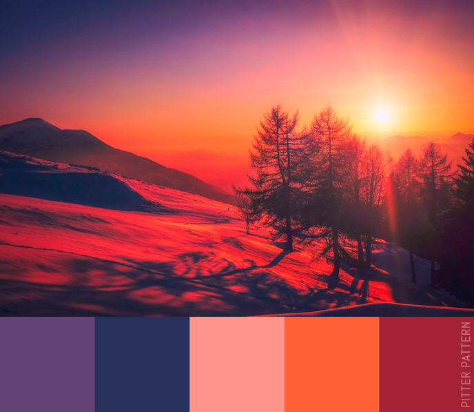 24 striking colour palettes for the daring [22] | Pitter Pattern