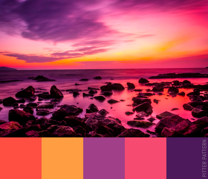 24 striking colour palettes for the daring [24] | Pitter Pattern