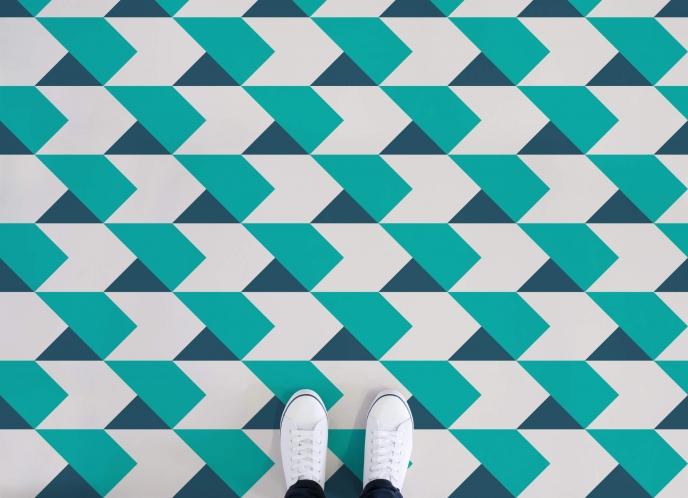 Atrafloor Vinyl Flooring - Kriss Kross | Pitter Pattern