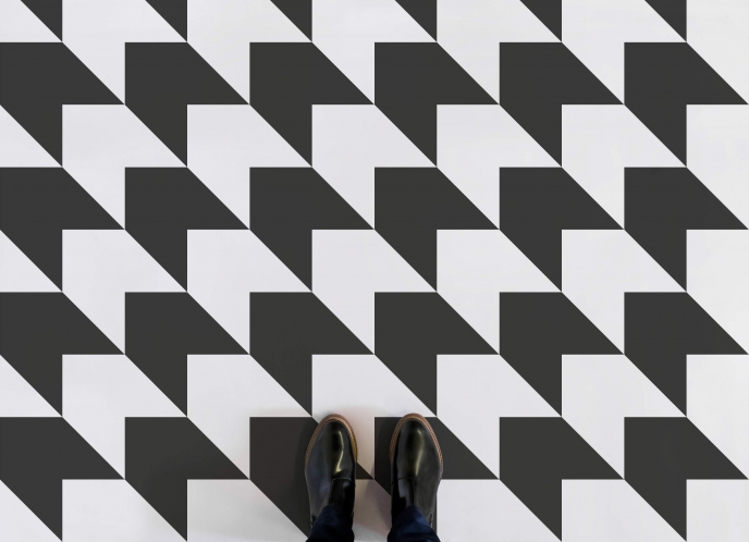 Atrafloor Vinyl Flooring - Sharktooth | Pitter Pattern