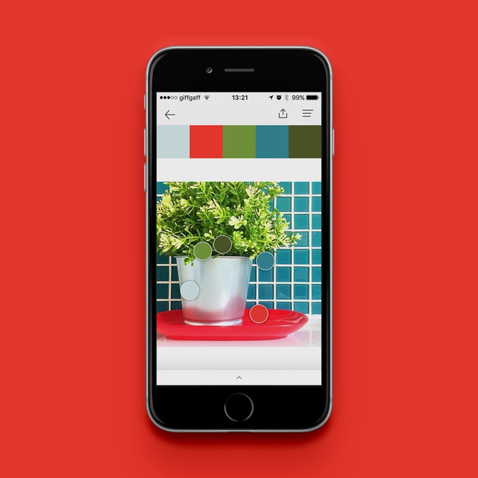 Pantone Studio app - Building colour palettes | Pitter Pattern