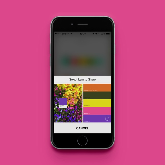 Pantone Studio app - Sharing your colour palettes | Pitter Pattern