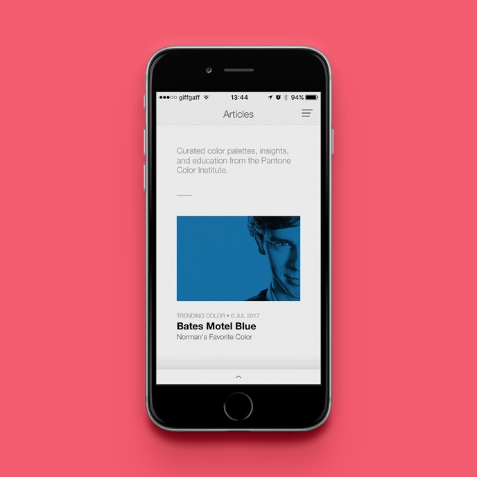 Pantone Studio app - Trend research | Pitter Pattern