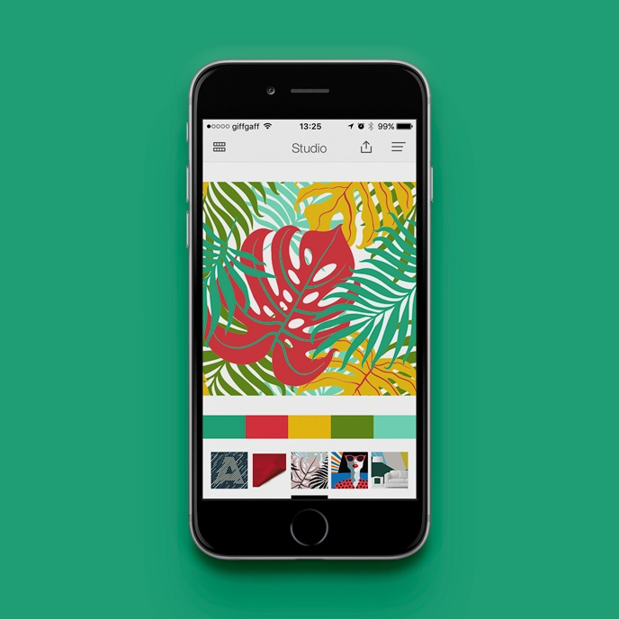 Pantone Studio app - Visualising your colour palettes | Pitter Pattern