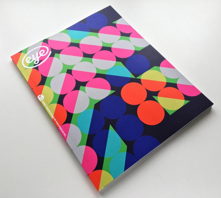 Pattern and colour on Eye Magazine's 8000 unique covers [1] | Pitter Pattern
