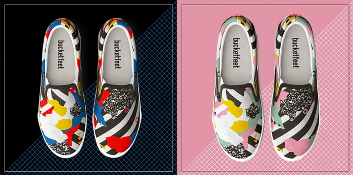 Season of Victory - Bucketfeet shoes | Pitter Pattern