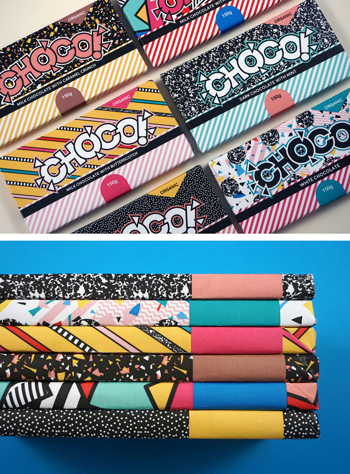 Season of Victory - Choco Chocolate branding | Pitter Pattern