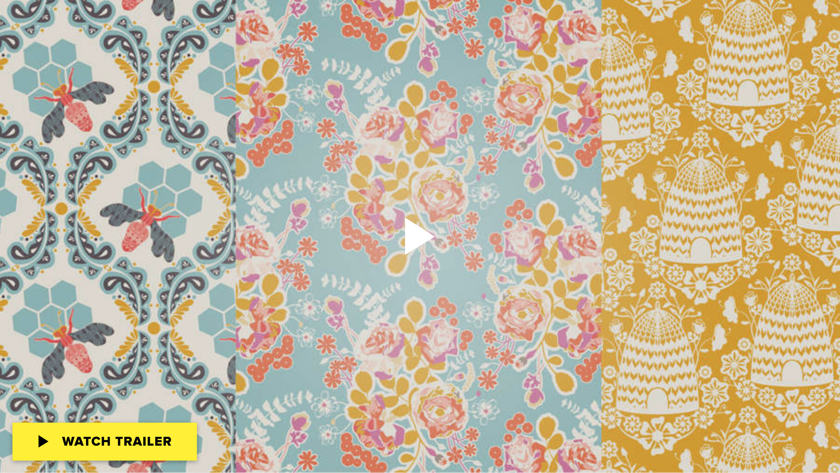 Design Surface Patterns From Scratch on sale at CreativeLive | Pitter Pattern