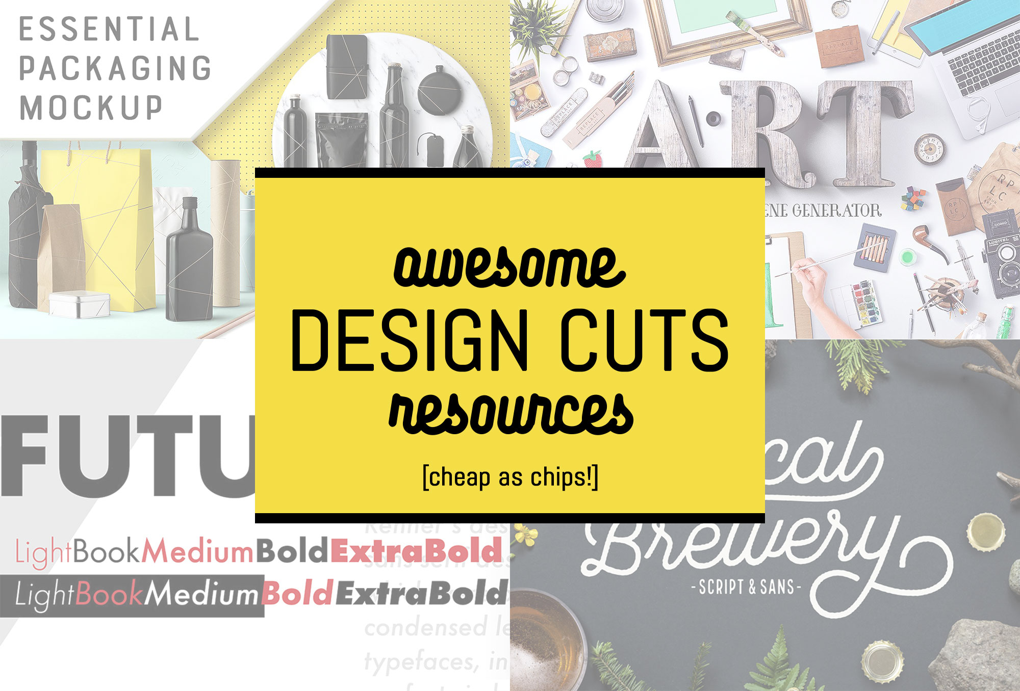 Awesome Design Cuts resources cheap as chips! [Limited time only] | Pitter Pattern