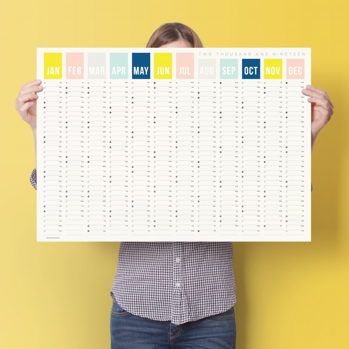 Doodlelove 2019 Calendar | Pitter Pattern