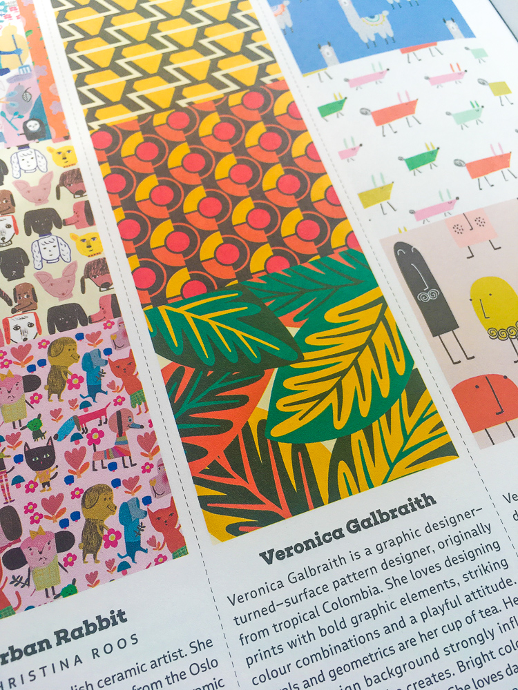 UPPERCASE Surface Pattern Design Guide - Veronica Galbraith's feature detail