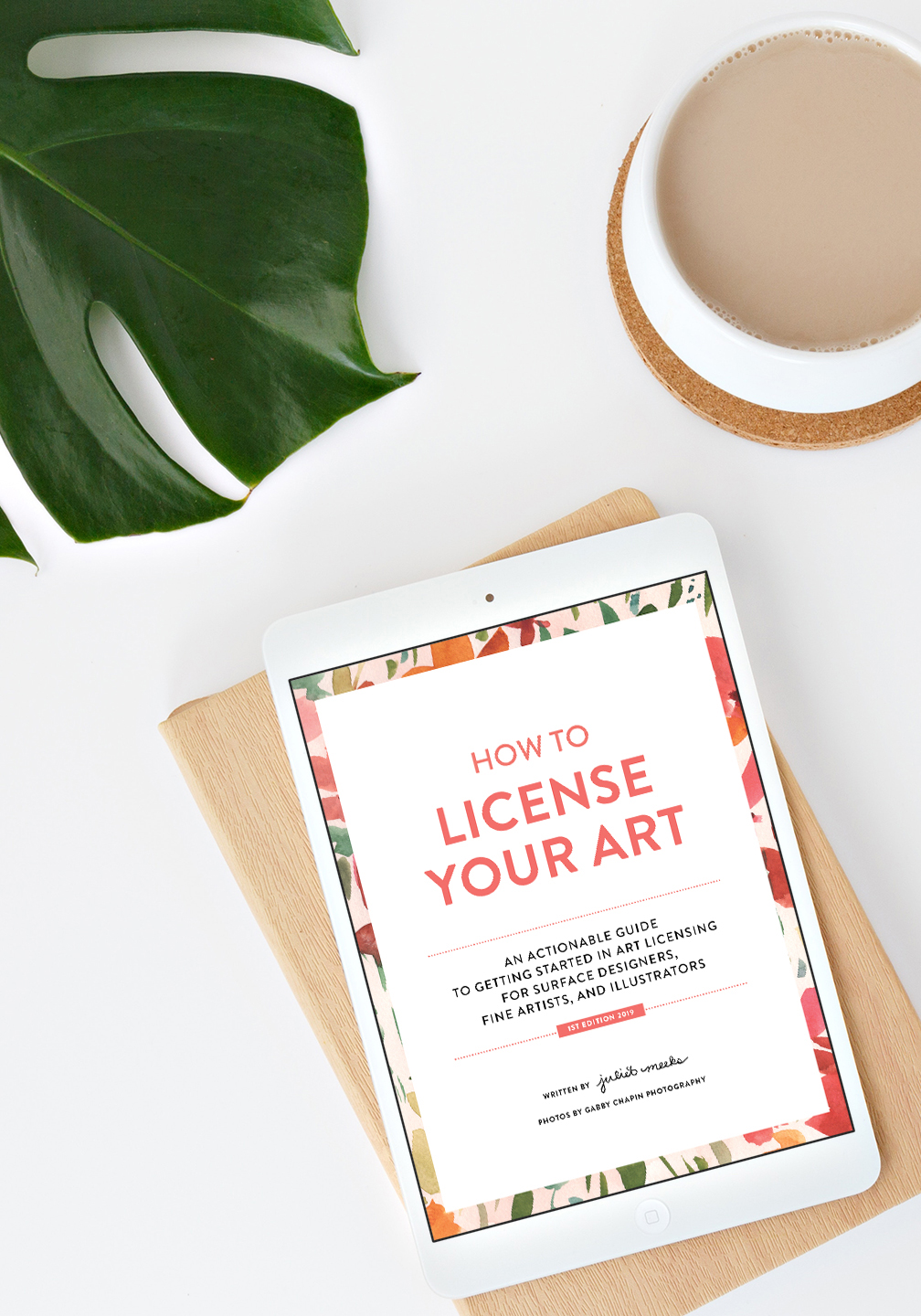 How To License Your Art Guide on iPad