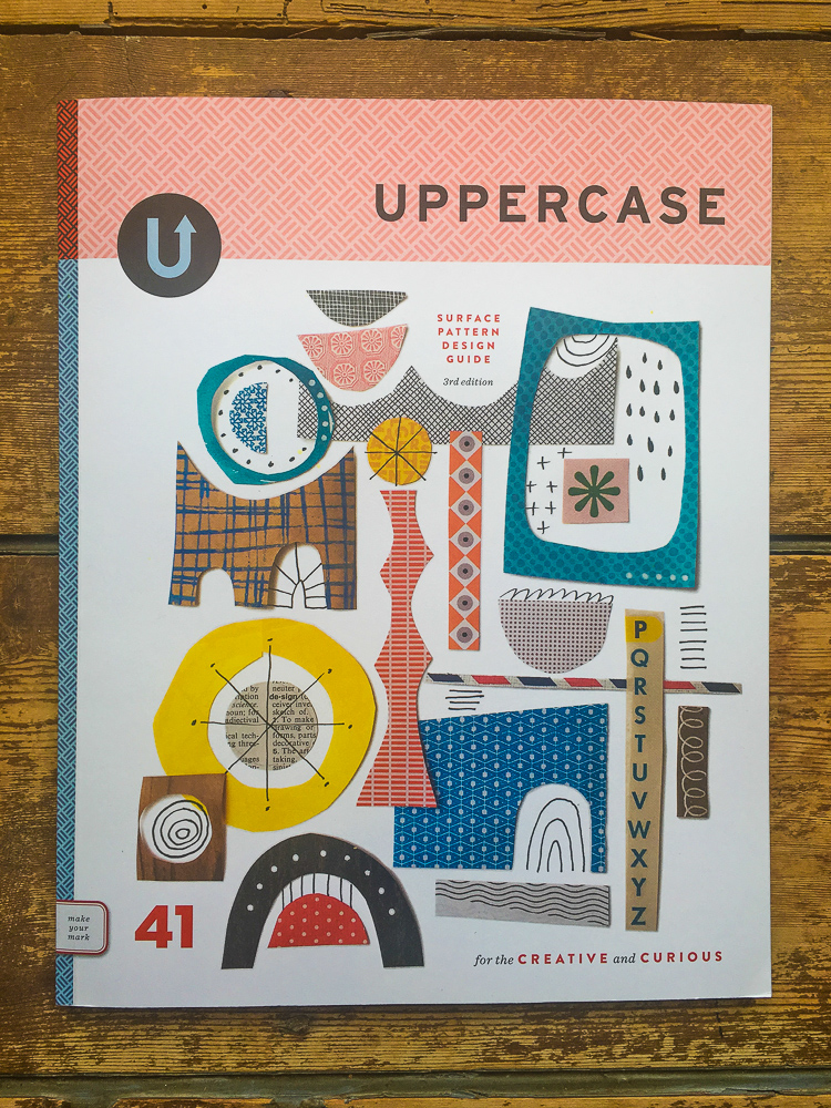 UPPERCASE Surface Pattern Design Guide Cover