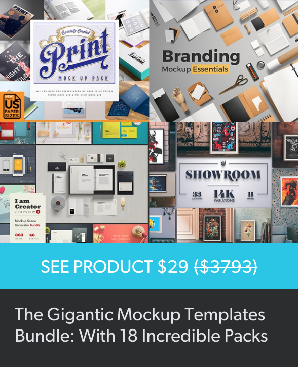 Design Cuts Mockup Bundle [2] | Pitter Pattern