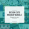 Design Cuts Mockup Bundle | Pitter Pattern