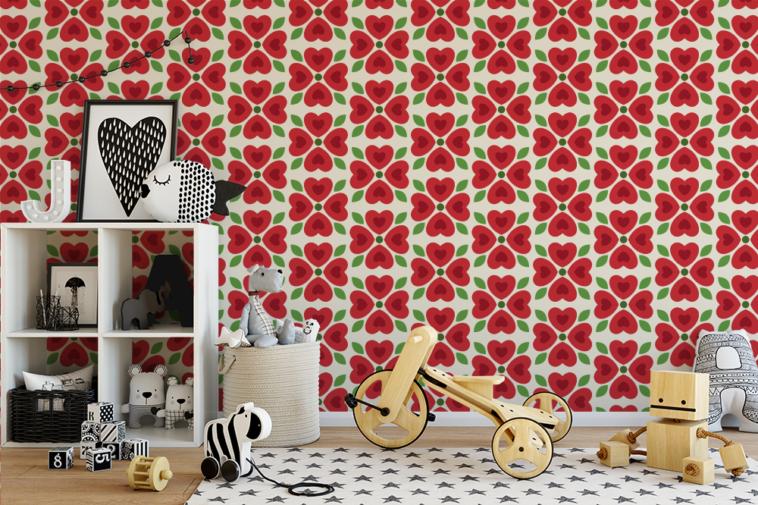 Veronica Galbraith wallpaper | Pitter Pattern