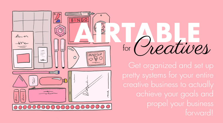 Airtable for Creatives course [1] | Pitter Pattern