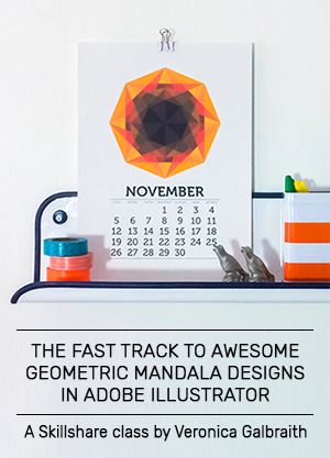 The Fast Track to Awesome Geometric Mandala Designs in Adobe Illustrator - A class on Skillshare
