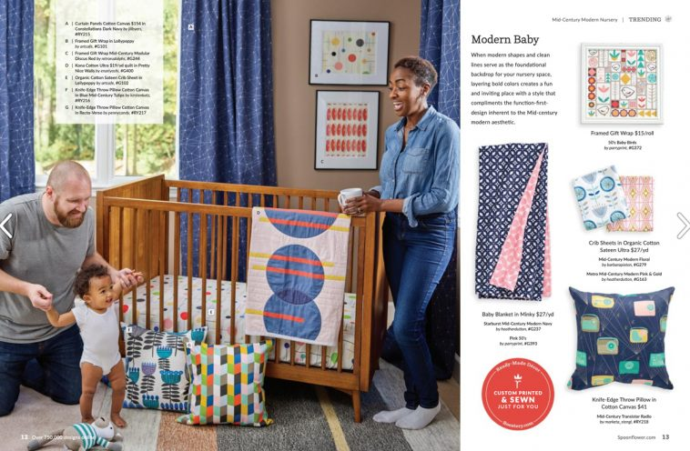 Spoonflower magazine - Nursery decor