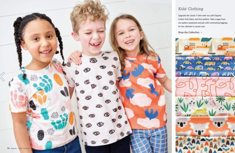 Spoonflower magazine - Kids' clothing