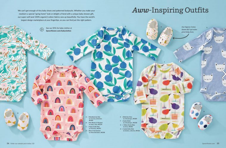 Spoonflower magazine - Baby clothes