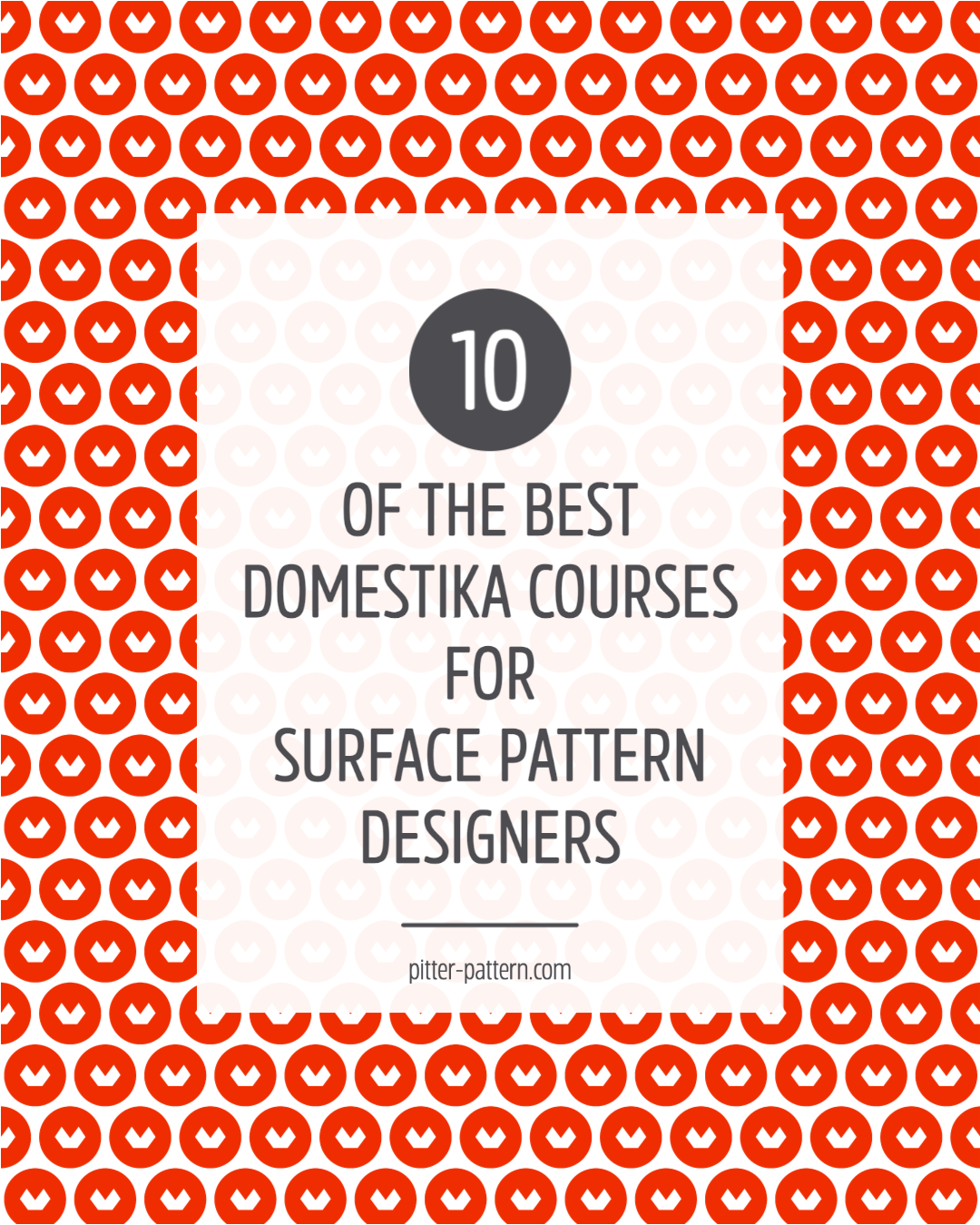 10 of the best Domestika courses for surface pattern designers | Pitter Pattern