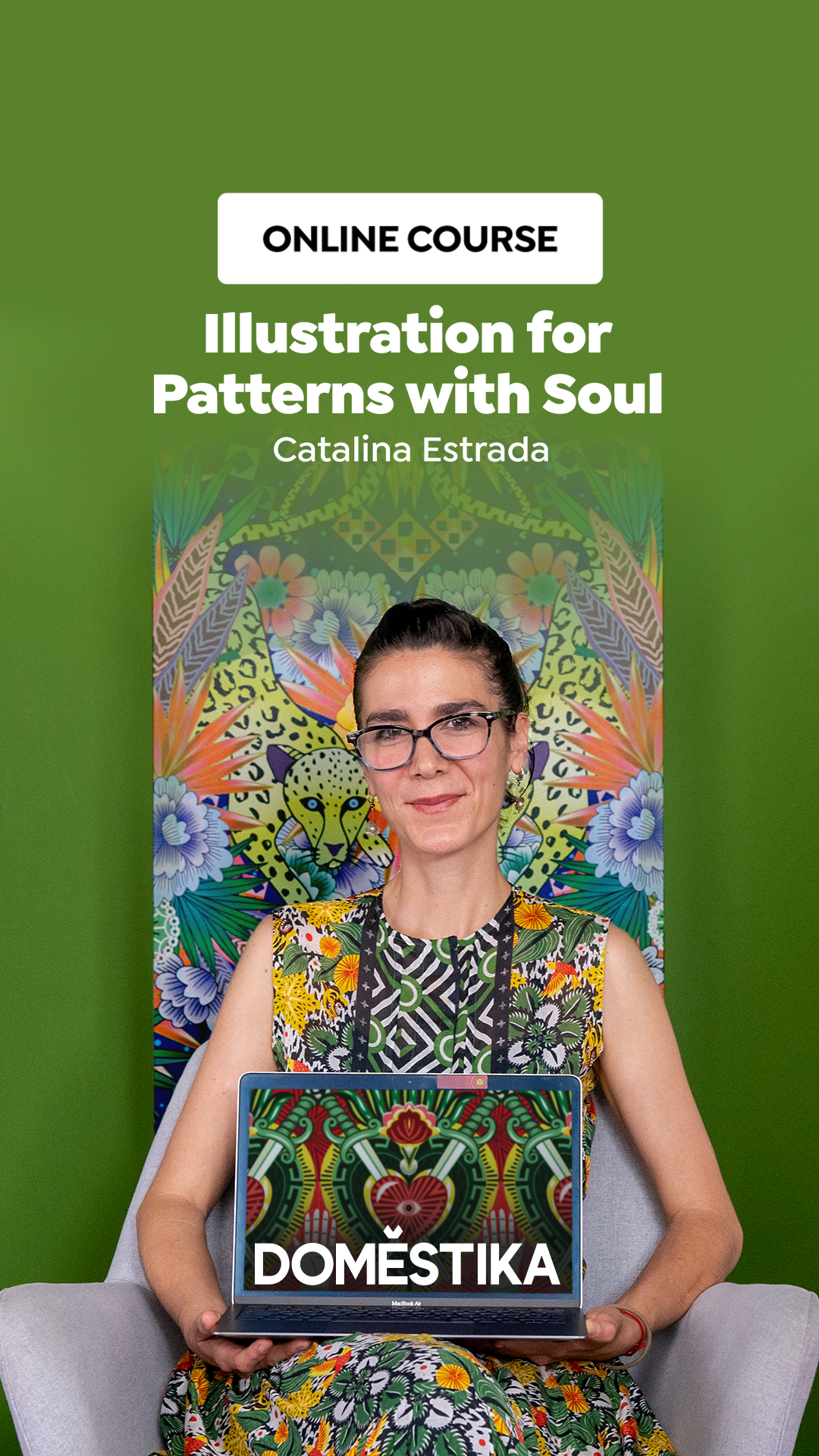 Illustration for Patterns with Soul - Domestika Course by Catalina Estrada