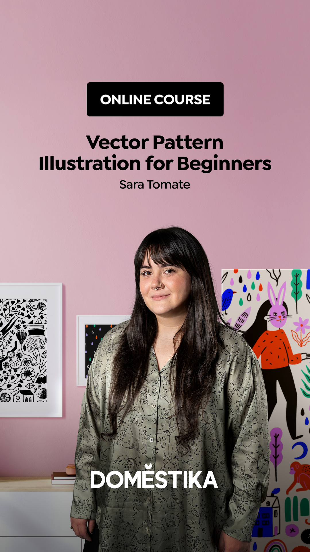 Vector Pattern Illustration for Beginners - Domestika Course